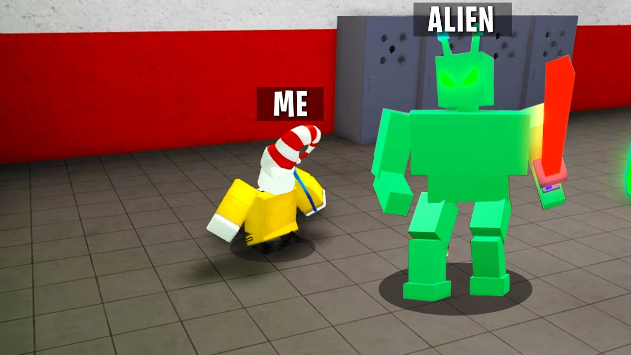 TRYING GLITCHES in ROBLOX ALIEN (Chapter 1)