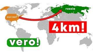 La distanza fra Stati Uniti e Russia e' di soli 4 km!! Test di intelligenza