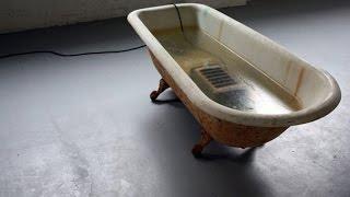Toaster Electrocution in Bathtub