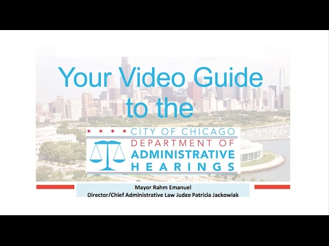 Your Video Guide to the Department of Administrative Hearing