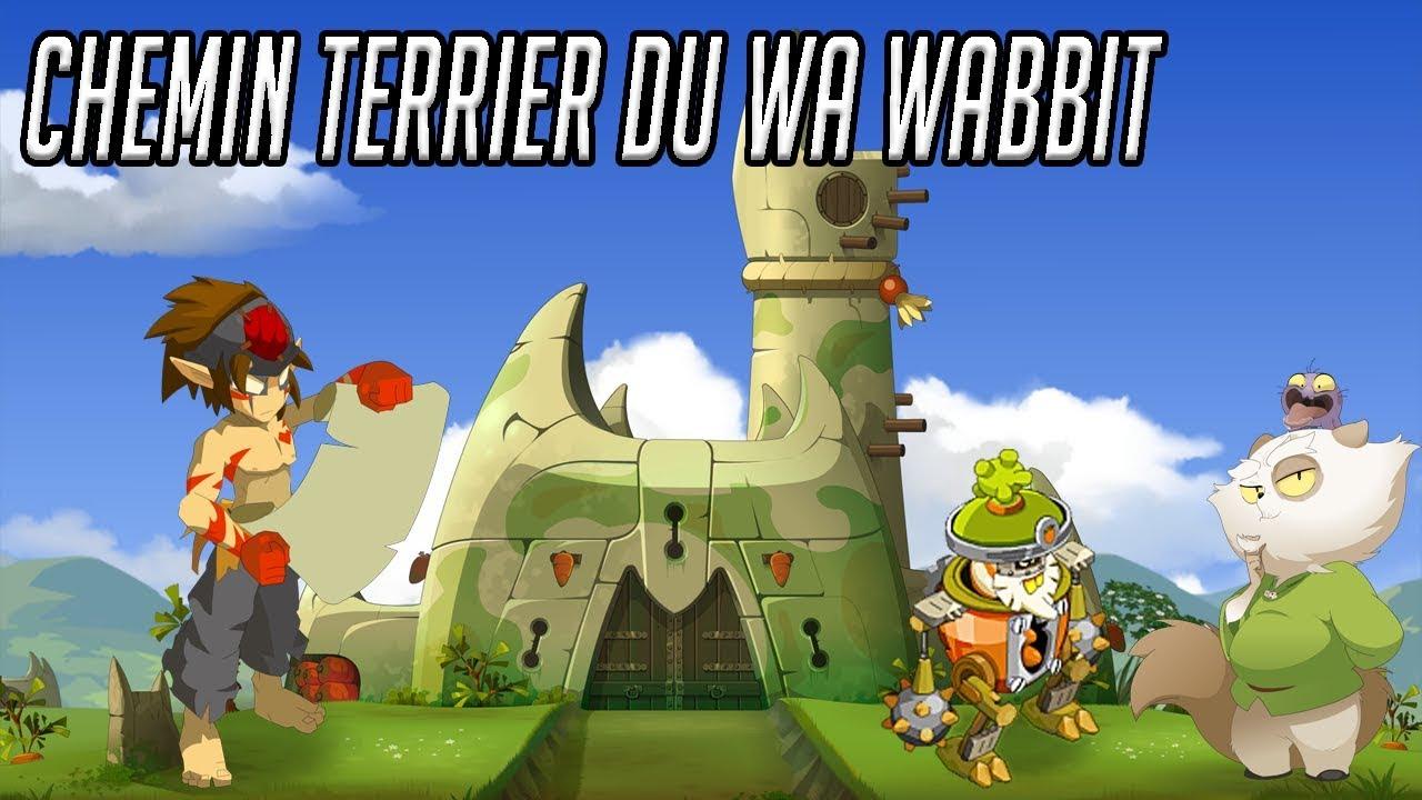 Dofus Touch Papychafr Chemin Terrier Du Wa Wabbit