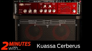 Kuassa Cerberus VST/AU bass amp plugin in action