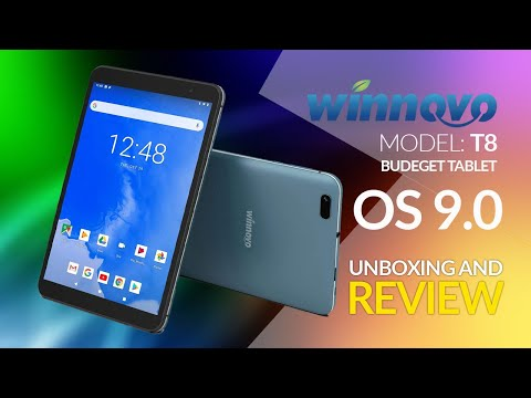 Best 8-Inch Tablet in 2020 Unboxing And Review Winnovo T8