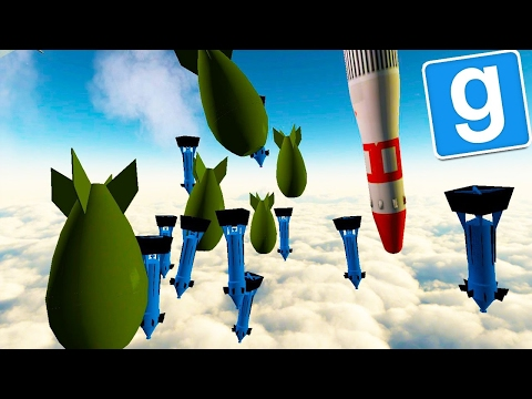 Gmod Sandbox: 1,000 NUKE EXPLOSION! You Wont Believe This! Gmod Funny Moments