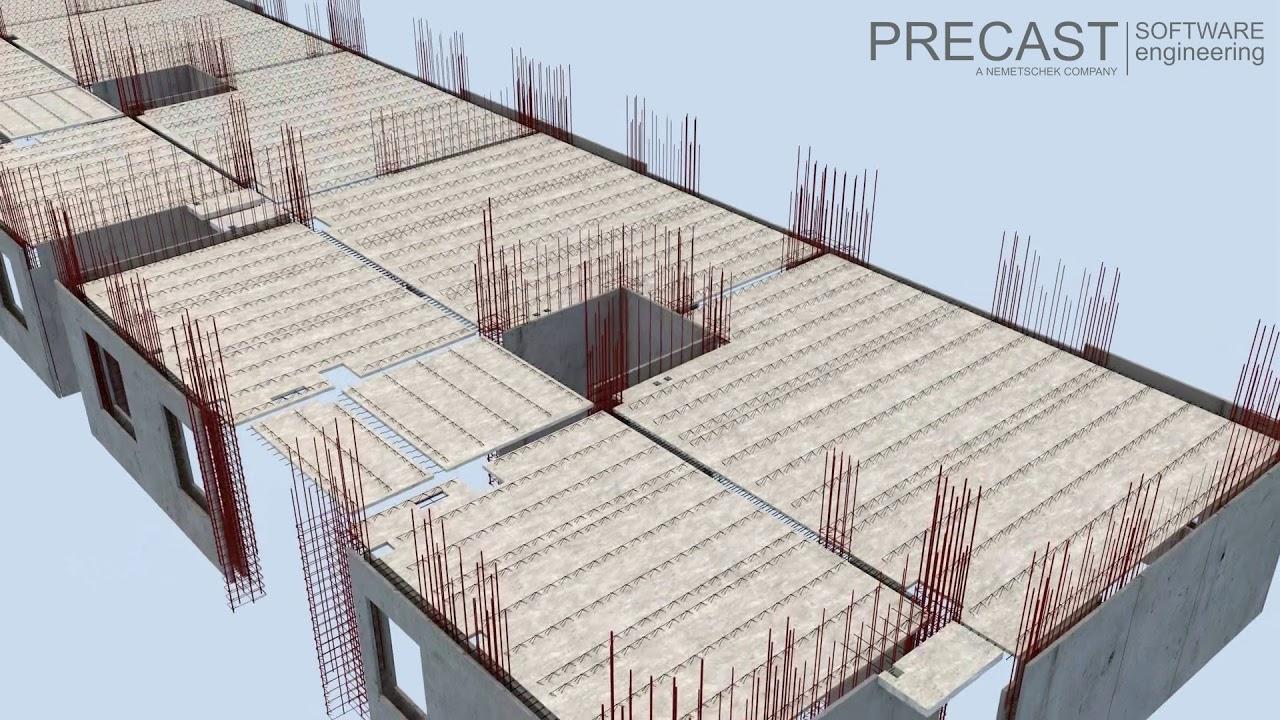 Precast Software Planbar High Rise Building Youtube