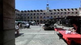 Plaza Mayor de Ocaña (Toledo). 16-08-2011