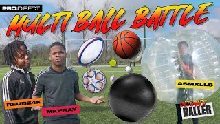 CHEEKIEST PENALTY OF ALL TIME!? I ASMXLLS MK FRAY & REUBZ4K MULTI BALL BATTLE