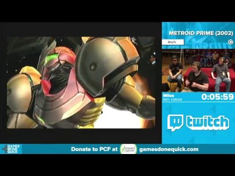 Metroid Prime by Miles in 1:21:56 - Awesome Games Done Quick 2016 - Part 49