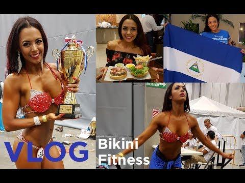 VLOG: Campeonato Internacional Costa Rica   Bikini Fitness
