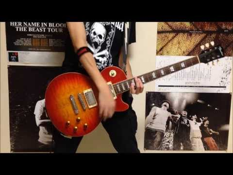 SECRET 7 LINE - DOWN TO HELL - Guitar cover