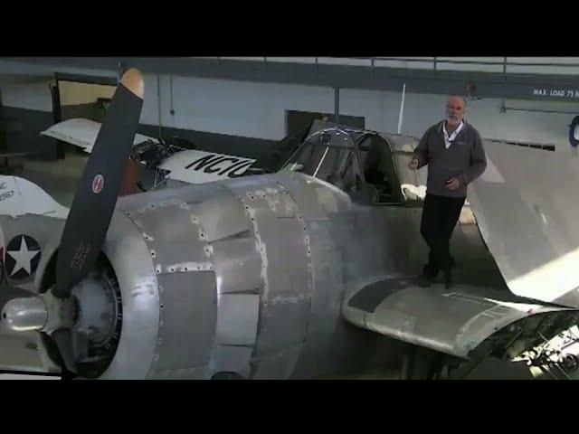 Grumman TBM Avenger - Arrival at Fantasy of Flight