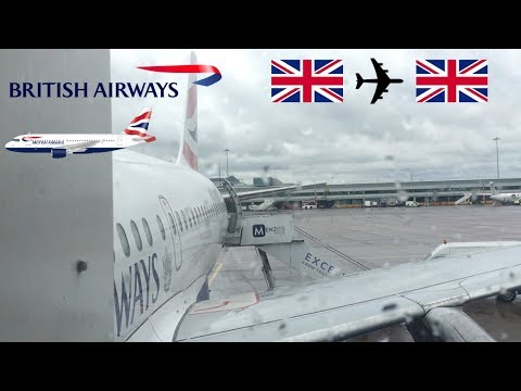 Flight Review British Airways A319 G-EUPT London Heathrow to Manchester 27/04/2017