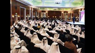 """""""محاضرة محمد القحطاني، بطل العالم في الخطابة 2015-السعودية في ندوة """"كيف تصنع تميزك"""
