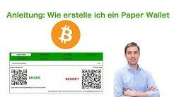 Anleitung: Wie erstelle ich ein Bitcoin Paper Wallet?