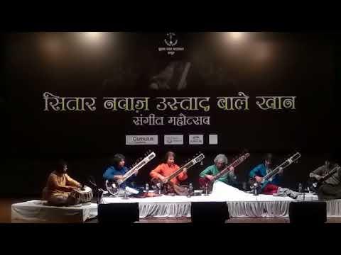 Sitar By Rafiq Khan And Shafiq Khan And Brothers