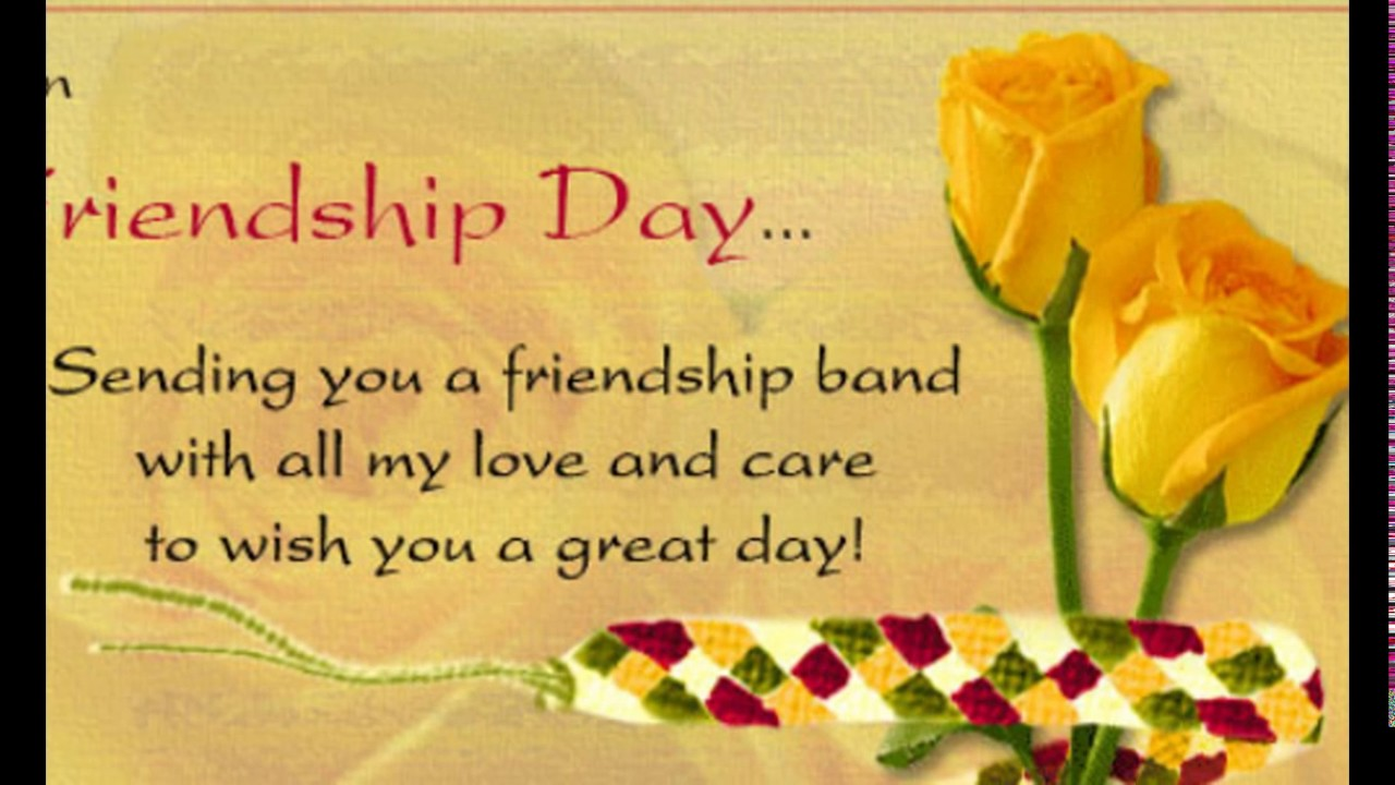 Friendship Day Greetings On Whatsapp For My Best Friend Friendship