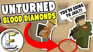 Hunting For Blood Diamonds - Unturned Roleplay (Business RP)