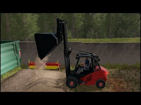 Repeat Farming Simulator 17 Mods - Linde H40D Forklift for