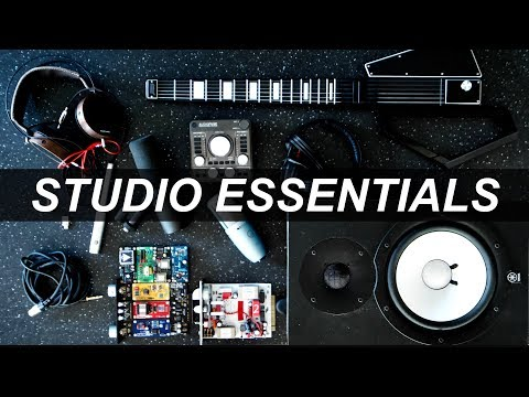 ESSENTIAL MUSIC PRODUCTION GEAR