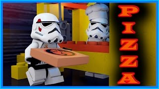 LEGO STAR WARS - PIZZA DELIVERY