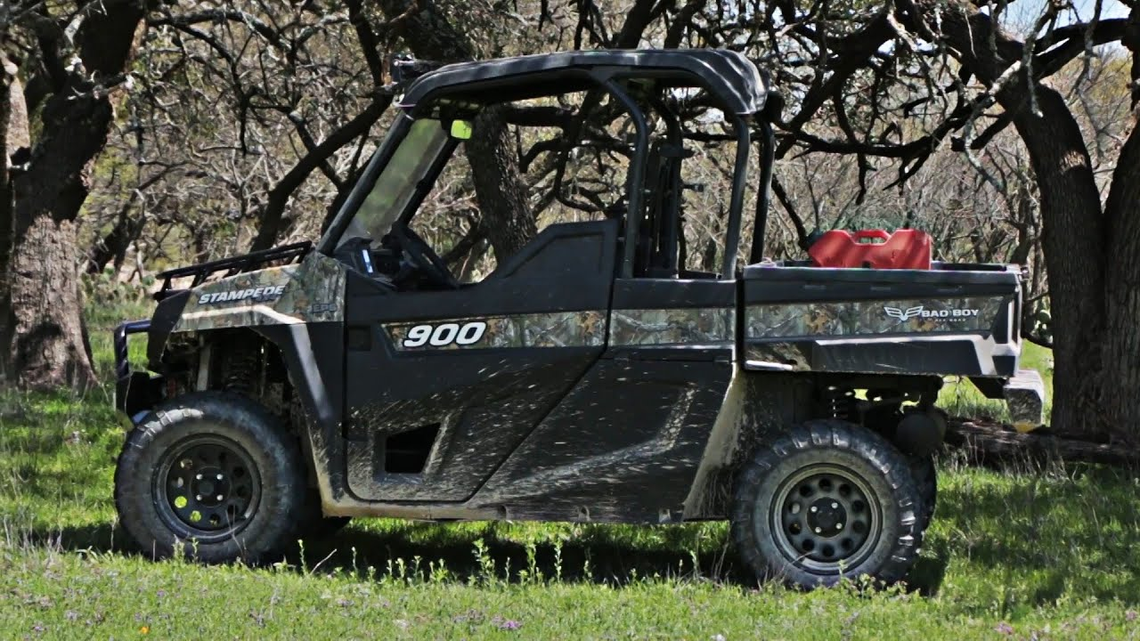 New Bad Boy Off Road Goes Gas With The New Stampede Utv