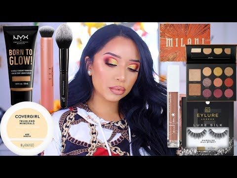 FULL THANKSGIVING 2019 BEAT! DRUGSTORE MAKEUP & BRUSHES ALL UNDER $20  ohmglashes thumbnail