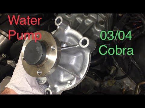 Water Pump Replacement: 03/04 Cobra Ford Mustang SVT Cobra Terminator 2003-2004