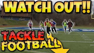 BACK YARD TACKLE FOOTBALL!! THE MOST LEGENDARY COMEBACK ATTEMPT??