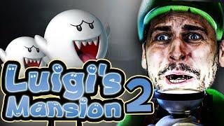 Eine besonders schlimme Geisterstunde   Luigi's Mansion mit Simon #02