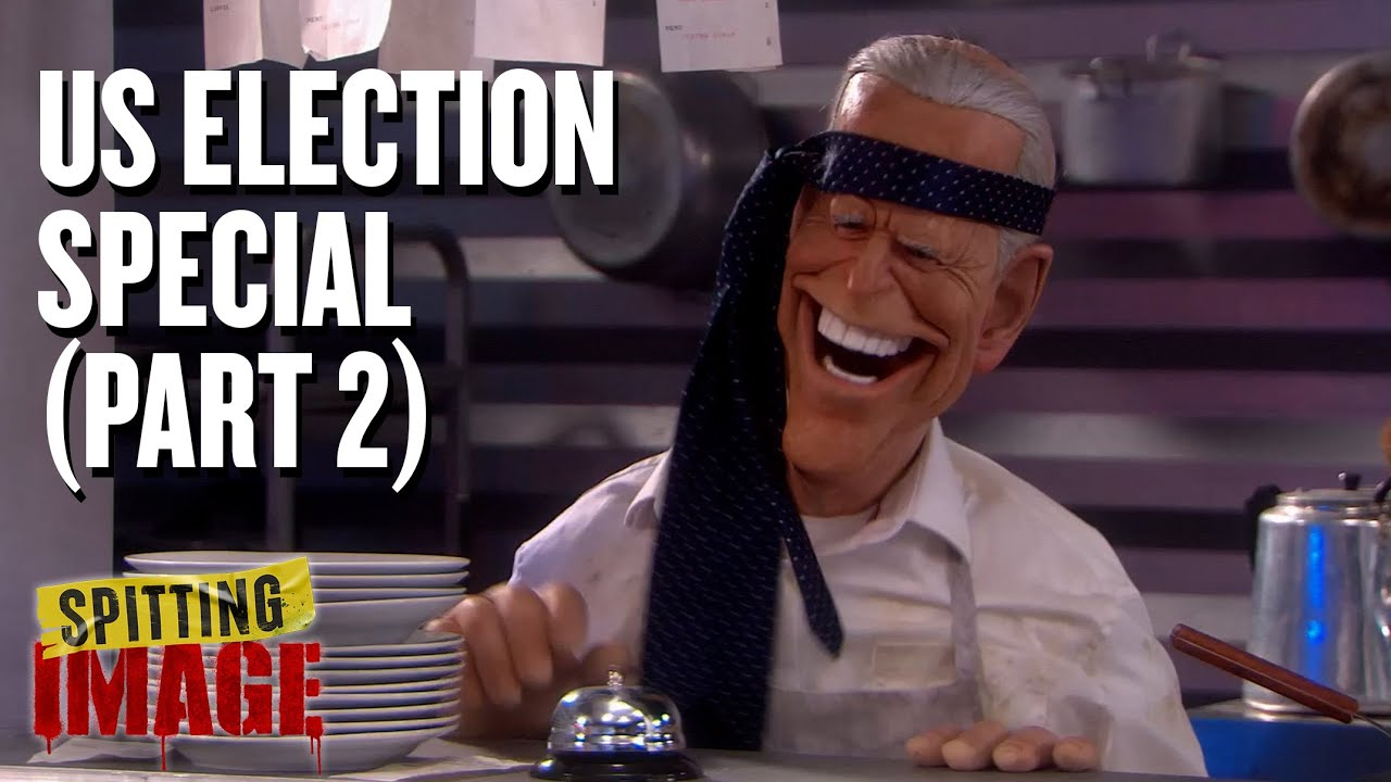 Spitting Image - US Election Special (Part 2)   Full Episode