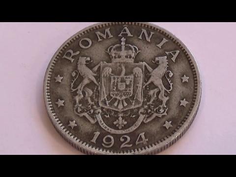 A 1924 Romania Six Star Coin