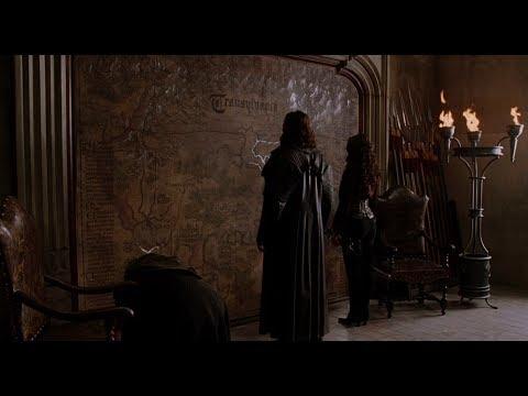 Секретный ход к замку Графа Дракулы. HD