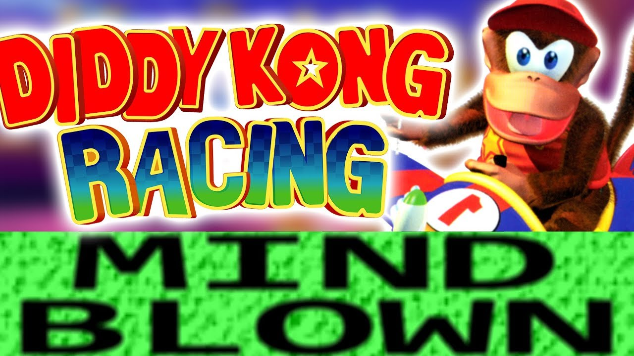 How Diddy Kong Racing is Mind Blowing!