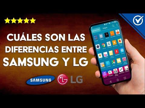 ¿Cuáles son las Principales Diferencias entre Samsung y LG?