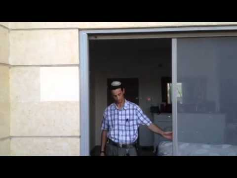 האחרון רשת נגד יתושים לחלון יציאה למרפסת - YouTube HU-19