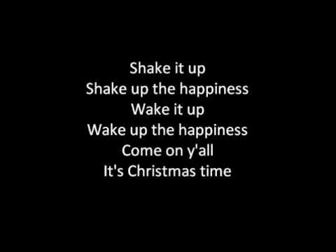 (Lyrics on screen) Train - Shake Up Christmas