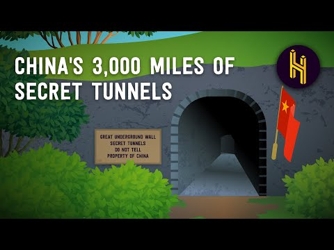 Why China Has 3,000 Miles of Secret Tunnels