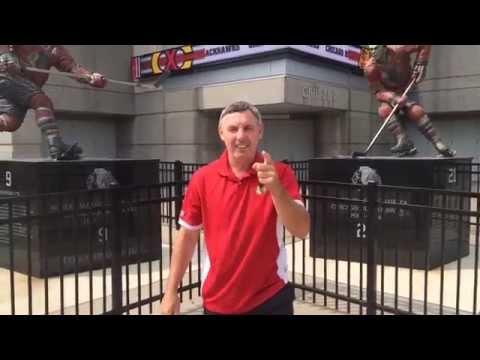 Denis Savard ALS Ice Bucket Challenge
