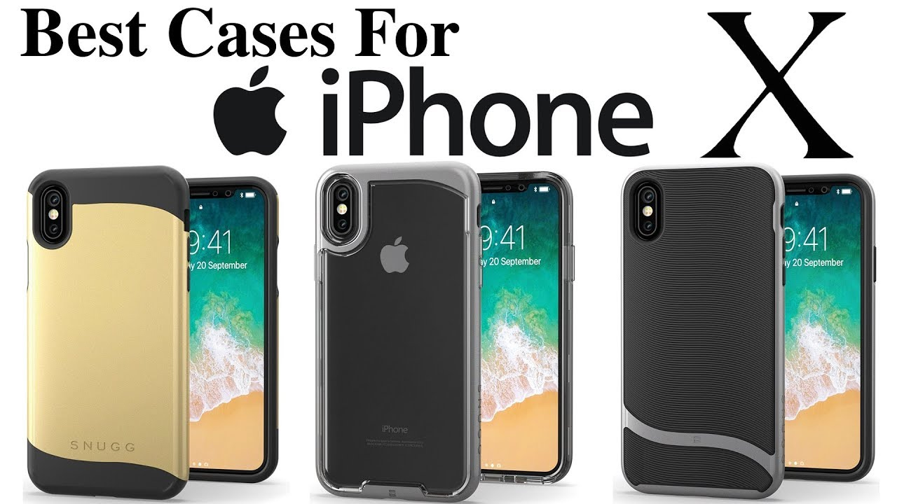 timeless design c3485 ba9ab iPhone X - Best iPhone X Cases From Snugg! [Review]