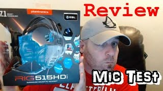 Plantronics | RIG 515HD LAVA | PC Gaming Headset | Review/Mic Test