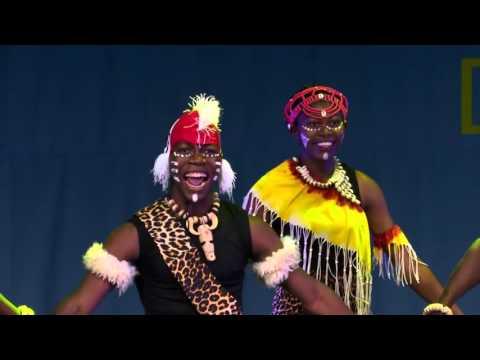 2015 World Cultural Dance Festival Brozen Prize Togo Chandelier 'Partage'