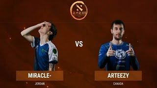 ТУРНИР 1 НА 1. MIRACLE VS ARTEEZY| DAC 2017