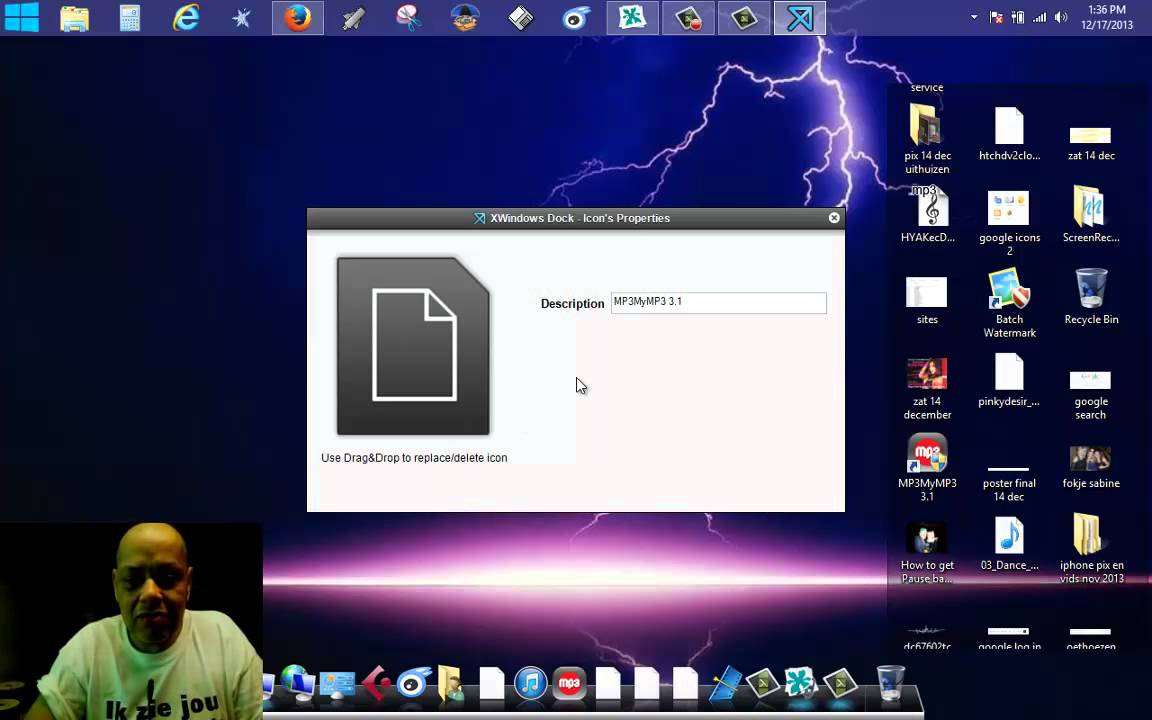how to put folder in dock mac