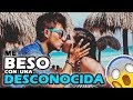 BESO O CACHETADA EN LA PLAYA - YouTube