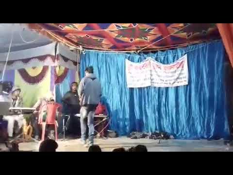 Sonu Rathore and Nisha ji ke sath stage show