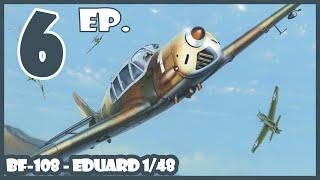 1/48 Messerschmitt Bf-108 Taifun - Eduard - maquette bouwen log dag 6