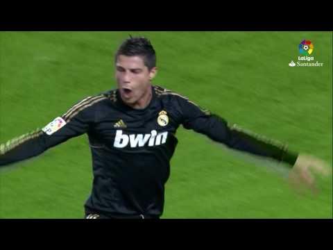 Resumen de Málaga CF vs Real Madrid (0-4) 2011/2012