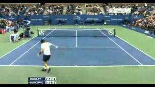 Andy Murray vs Novak Djokovic Highlights Set 4 US OPEN FINAL 2012 10 09 2012    1
