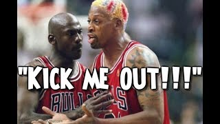 When Jordan And Pippen Were Fed Up With Dennis Rodman