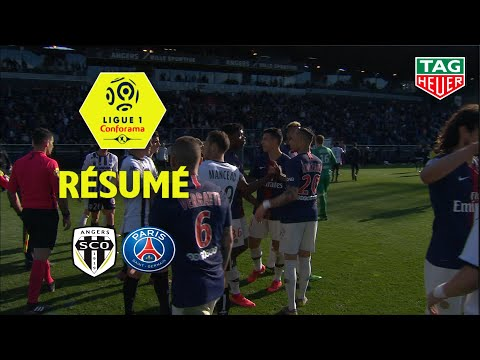 Angers SCO - Paris Saint-Germain ( 1-2 ) - Résumé - (SCO - PARIS) / 2018-19